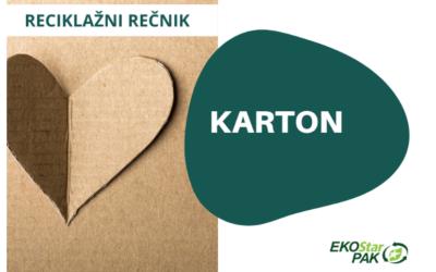 Karton – snagator među papirima